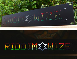 2u Custom LED Sound System Light Box